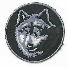 WOLF -  IRON ON PATCH