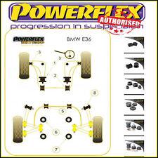 Powerflex For Bmw E36 3 Series Black Series Suspension Bushes Kit (concentric