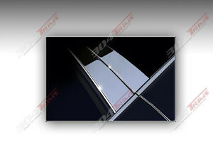 Chrome Pillar Posts 6PCS Stainless Door Trim FOR HYUNDAI VERACRUZ 2007-2012
