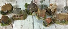 Collection of Lilliput Lane Cottages Houses 21st Birthday Edition and 1 Signed