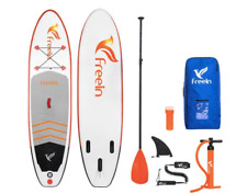 FREEIN INFLATABLE STAND UP PADDLE BOARD PACKAGE | ORANGE