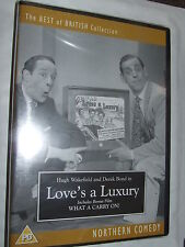 Love's A Luxury/What A Carry On  - Hugh Wakefield DVD NEW  SEALED
