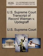 U.S. Supreme Court Transcript Of Record Wieman V. Updegraff
