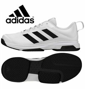 NIB Adidas Men's Game Spec Athletic Tennis Shoes Black/White Various Size