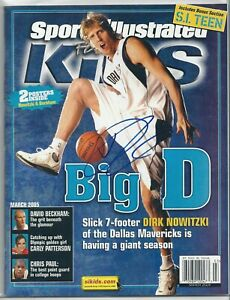 Autograph Signed Dirk Nowitzki Sports Illustrated for Kids Mavericks HOF?