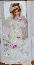 "Danbury Mint & Rustie Summer Splendor Bride Special Edition 26"" Doll in Box"