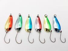 6x Forellenblinker, Japan Blinker, Trout Spoon, Spoons B74