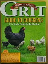 Grit Guide to Chickens Fall 2016 Tips For Raising Best Poultry FREE SHIPPING sb