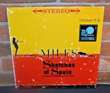 MILES DAVIS - Sketches of Spain, Limited 180G YELLOW VINYL LP + DL New & Sealed!