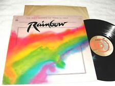 """Rainbow-Soft Sounds of Toda's Rock"" 1980 Pop/R&B Lp, Vg, K-Tel, Various Artist"