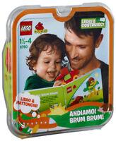 LEGO Duplo 6760 Andiamo ! Brum Brum Libro + Mattoncini Leggi e Costruisci New