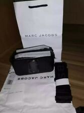 BNWT Marc Jacobs DTM Black Snapshot Small Camera Crossbody Bag
