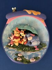 """Winnie Pooh's Honeypot Adventures 3D Plate """"It's Just A Small Piece Of Weather�"""
