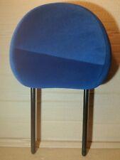 1x Citroen C2 2003 - 2009 Front Blue Velour Cloth Headrest