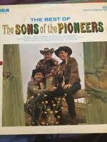 VINTAGE 1966 THE BEST OF THE SONS OF THE PIONEERS RCA Vinyl LP ANL1-3468e VG+