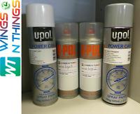 U-POL AEROSOL PAINT PRIMER LACQUER FOR TOYOTA BLIZZARD 070 (3 STAGE PAINT)