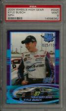2004 Wheels High Gear MPH #M45 Kyle Busch RC Rookie PSA 9 MINT #rd /100 POP 2