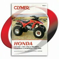 1993-2000 Honda TRX300EX FOURTRAX Repair Manual Clymer M456-4 Service Shop