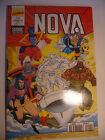 Semic MARVEL DC Comics FRANCE Spiderman BD LUG Super Heros NOVA n°202 Nov 1994
