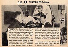 1958 TV AD~SCIENCE~DR. MYRON TRIBUS & PROFESSOR CRAIG TAYLOR UCLA~HEINZ HABER