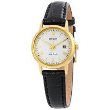 Citizen Eco-Drive White Dial Ladies Watch EW1582-03A