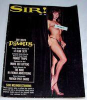 SIR! Men's MAGAZINE • May 1964 • Cheesecake Pin-ups and Articles