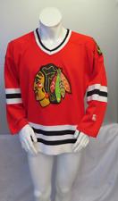 Chicago Blackhawks Jersey (VTG) -  Crested Away Red by Starter - Men's Large