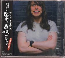 andrew w.k. close calls with brick walls cd japan