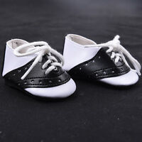 "Fashion Black & White Saddle Shoes made for 18"" Doll Clothes Hot"