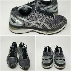 Asics Gel Nimbus 18 Fluid Gray Athletic Running Sneakers Shoes Womens Size 11