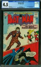 Batman 159 CGC 4.5 -- 1963 -- Joker, Clayface, Bat-Girl, Batwoman #2027869003