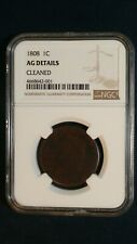 1808 Classic Head Large Cent Ngc Ag 1C Coin Priced To Sell Now!