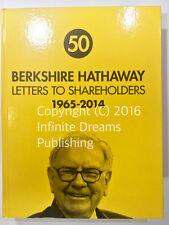 HARDCOVER NEW Berkshire Hathaway Letters to Shareholders Warren Buffett