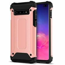 For Samsung Galaxy S10 / Plus S10e Case Heavy Duty Dual Layer Armour Hard Cover