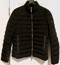Mens MOORER Down Jacket, BNWT! Sz 54IT, Black, 100% Authentic! Puffer Goose