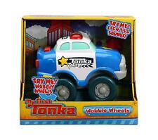 NEW MY FIRST TONKA TRUCK WOBBLE WHEELS TOY POLICE CAR 06290