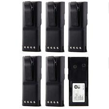 6X Ni-CD HNN9628 HNN9628A Battery for MOTOROLA GP-300 LCS2000