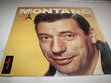 YVES MONTAND HIS SONGS OF PARIS LP EX Monitor MFS535 1958