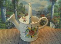 *IPC Ceramic Watering Can - Hand Painted - Made in Portugal