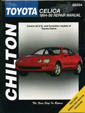 Chilton Workshop Manual Toyota Celica 1994-1998 Service & Repair
