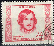 Germany DDR Famous Russian Writer Nikolay Gogol stamp 1953