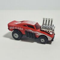 Vintage Matchbox Superfast Red Rider Hot Rod Red w/ Flames No. 48 Great Shape!