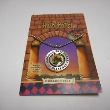 FANTASTIC  HARRY POTTER PENDENT SILVERTONE CENTER TURNS