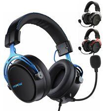Mpow Air Gaming Headset Kabellos Kopfhörer Wireless PS4 PC Laptop Headphone DE