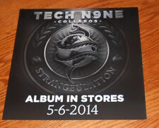Tech N9ne Collabos Poster 2-Sided Flat Square 2014 Promo 12x12 RAP