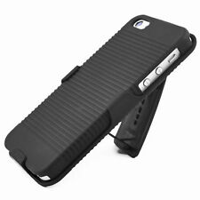 Black Cell Phone Clip Case for Apple