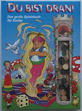 Das große Spielebuch für Kinder Du bist dran Brettspiele XENOS Schach Dame u. a.