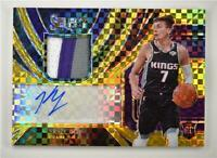 2019-20 Select Rookie Jersey Auto Gold #RJA-KGY Kyle Guy /10