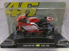 MOTO VALENTINO ROSSI 1/18 #46 APRILIA RSW 250 IMOLA 1998 COLL.EDICOLA