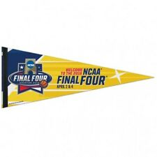 2016 NCAA Men's Final Four Houston Texas 12x30 Premium Pennant April 2nd 4th